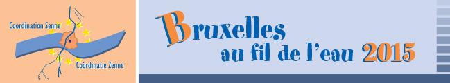 Coordination Senne - Bruxelles au fil de l'eau 2015